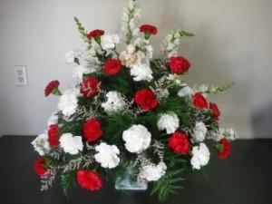 FG Sweet Angel Sympathy arrangement in Barnesville, OH | THE FLOWER GARDENS