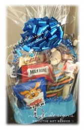 FIDO'S TREATS GIFT BASKET
