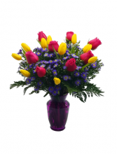 Fields of Color Get Well Soon Flower Arrangement