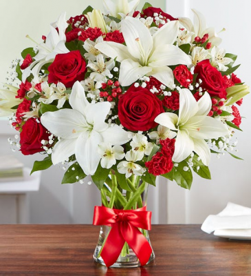 Fields of Europe Bliss  Large Valentine Arrangement
