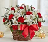 Fields of Europe™ Christmas Basket Arrangement