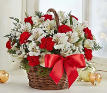Fields of Europe™ Christmas Basket Arrangement