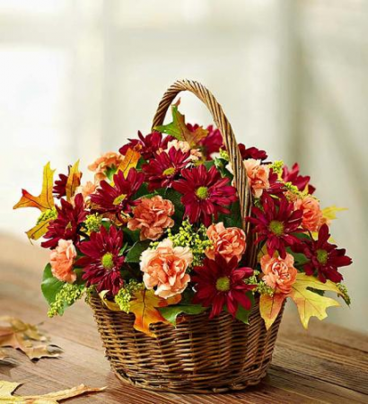 Fields of Europe™ for Fall Basket '18 Arrangement