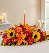 Fields of Europe for Fall  Centerpiece Roma floris
