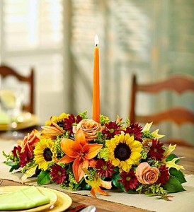 Fields of Europe for Fall Centerpiece Table Centerpiece