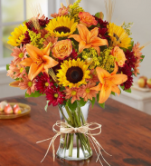 fields of europe for fall floral arrangement
