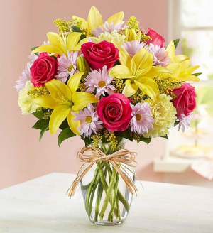Fields of Europe for Spring Large Spring Vase in Springfield, MO | FLOWERAMA #226