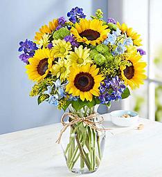 Fields of Europe for Summer Vase Arrangement