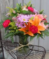 Fields of Europe Fresh Flower Vase