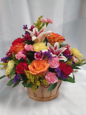 Fields of Europe Garden Basket This Week's Special $39.99  in Sunrise, FL | FLORIST24HRS.COM