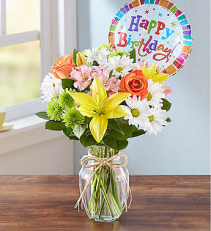Fields of Europe™ Happy Birthday Arrangement