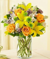 Fields of Europe™ in Cylinder Vase Arrangement