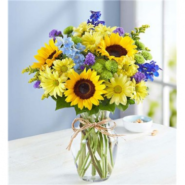 Fields of Europe Summer Floral Arrangement