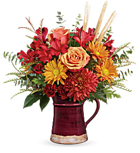 Fields of Fall 2 Gifts in One! in Springfield, IL | FLOWERS BY MARY LOU