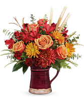 Fields of Fall Arrangement