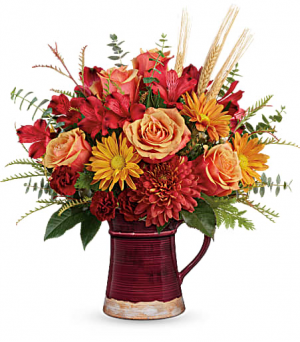 Fields of Fall Bouquet  in Fort Collins, CO | D'ee Angelic Rose Florist