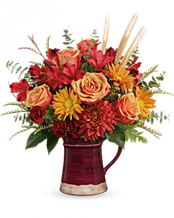 Fields of Fall Bouquet Fall Flowers