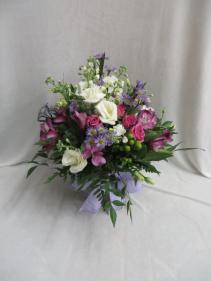 Fields of Flowers Fresh Vased Arrangement