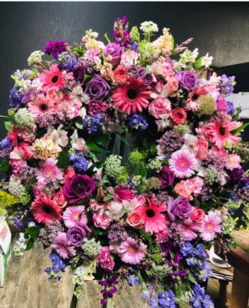 Fields of Grace  Sympathy wreath