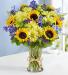 fields of summer floral arrangement