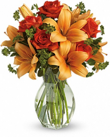Fiery Lily and Rose T47-2