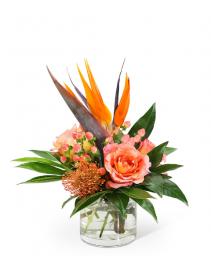 Fiery Spirit Flower Arrangement