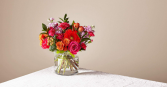 Fiesta bouquet Cinched Vase Collection
