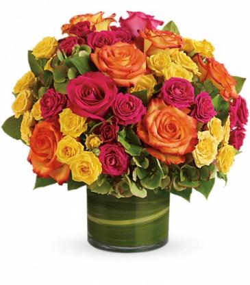 Fiesta! Rose bouquet