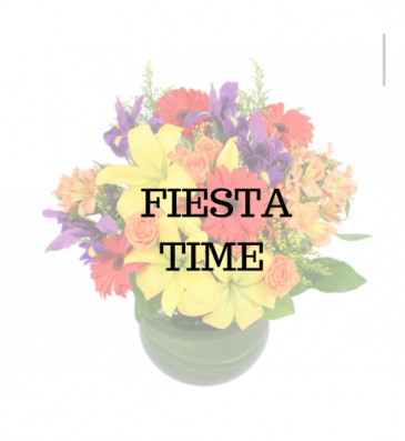 Fiesta Time Vase Arrangement
