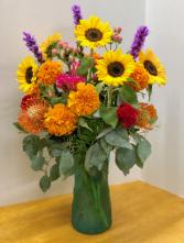 Fiesta Vase Arrangement