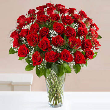 Fifty Roses vase