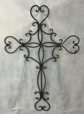 Filagree Style Metal Cross Gift