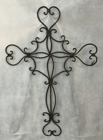 Filagree Style Metal Cross Gift