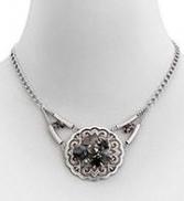 Filigree Round Medallion Necklace
