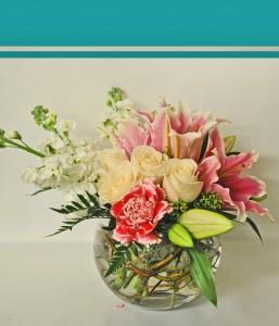 Fine Blush Bouquet Romantic Floral Design