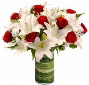 FIRE AND ICE ARRANGEMENT in Germantown, MD | GENE'S FLORIST & GIFT BASKETS