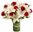 24 Radiant Roses Red Roses Arrangement