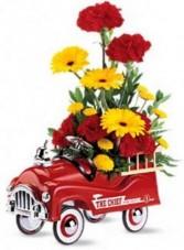 Fire Engine Bouquet