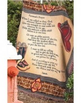 "Fireman's Prayer 50"" x 60"" Throw"