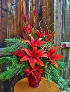 Fireside Reflections Seasonal Bouquet