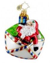 First Class Claus Christopher Radko Ornament
