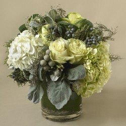 First Frost Vase Arrangement in Fairfield, CT | Blossoms at Dailey's Flower Shop
