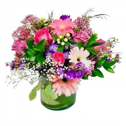 First Kiss Vase arrangement