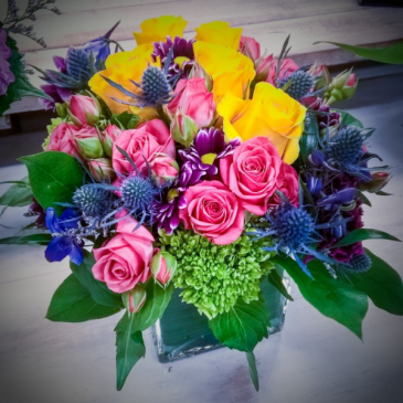 First Love Mounded Arrangement