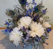 First Snow Flower arrangement