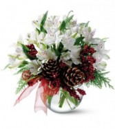 First Snowfall Christmas Arrangement