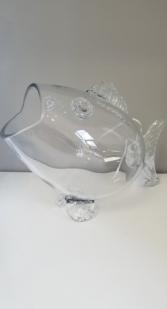 "Fish 15"" Glass"