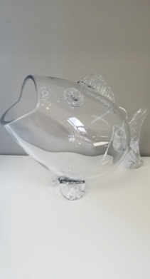"Fish 15"" Glass"
