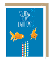 Fish Birthday Card