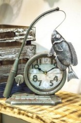 Fisherman Table Clock
